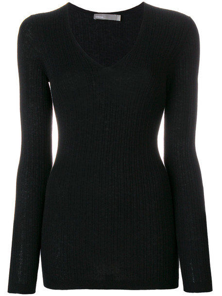 Vince jumper cashmere jumper women black sweater