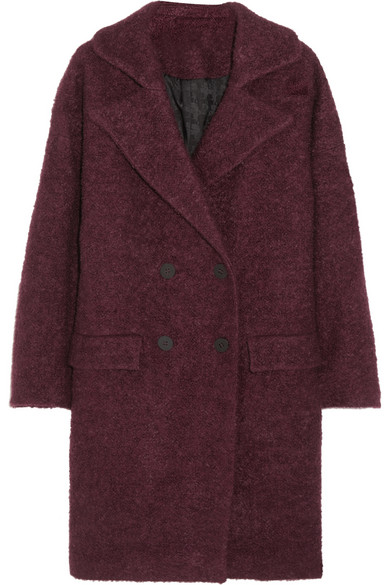 Karl Lagerfeld | Hadley oversized bouclé coat | NET-A-PORTER.COM