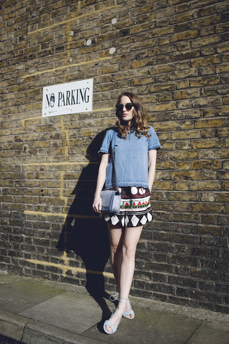 at fashion forte blogger top sunglasses jewels shorts bag shoes chanel boy bag boy bag chanel boy
