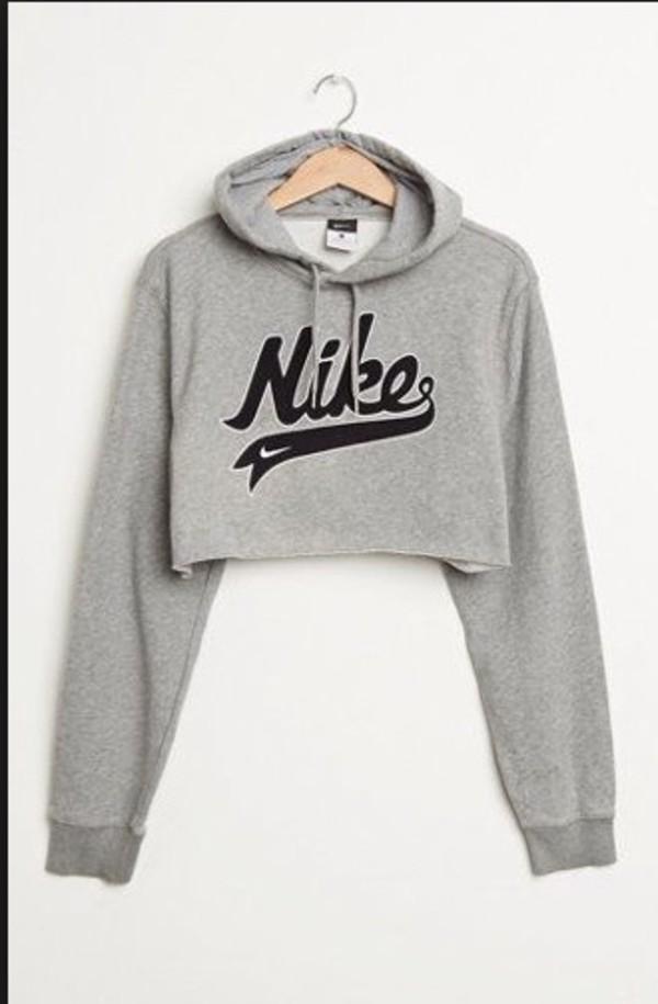 Jacket Hoodie Cropped Nike Nike Sweater Nike Hoodie