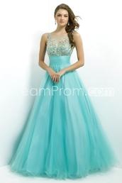 dress,light blue,prom dress,prom,sparkle,sequins,long dress,tulle skirt,sleeveless,pretty