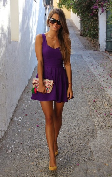 dress purple dress purple
