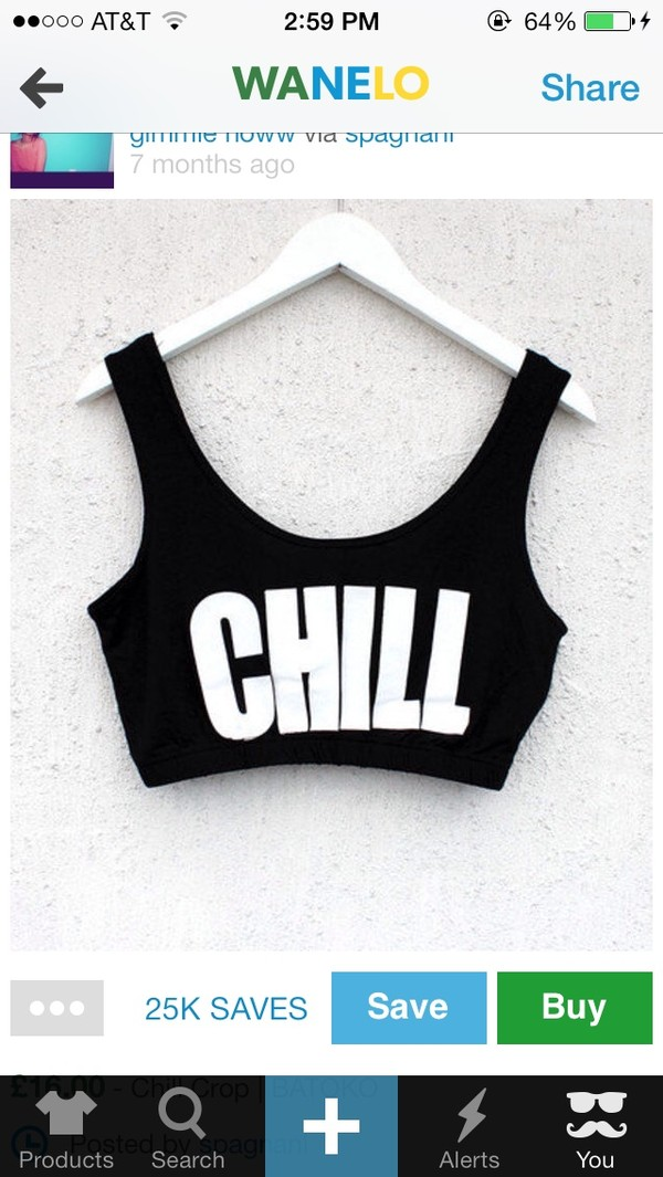 shirt chill crop tops