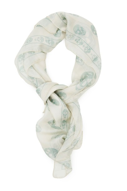 skull scarf silk scarf silk