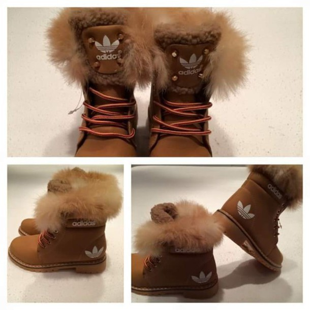 Shoes Brown Sports Boots Adidas Adidas Winter YngqrWIY