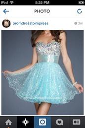 dress,homecoming dress,light blue,short dress
