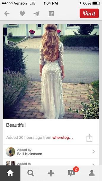 dress silver sequin dress