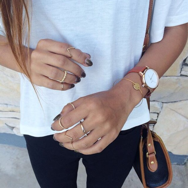 jewels ring rings and tings silber gold gold ring jewelry rings jeans bag t-shirt flowers daisy
