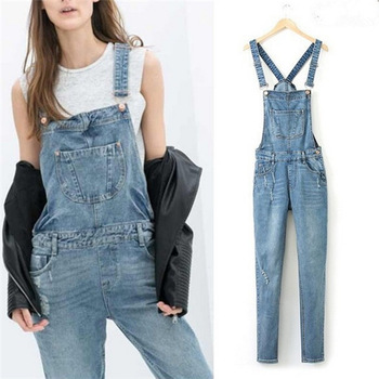 Woman Brand Ripped Hole Denim Jumpsuits Ladies Sexy Slim Casual Romper Plus Siz 42 Denim Pencil Jeans For 4 season-in Jumpsuits & Rompers from Apparel & Accessories on Aliexpress.com | Alibaba Group