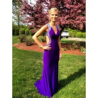 dress prom purple dress prom dress