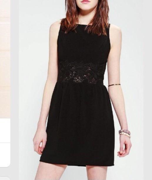 dress little black dress urban outfitters