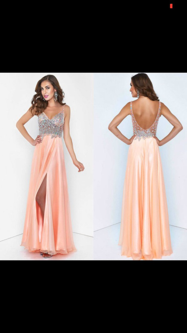 dress crystal prom dress prom dress prom slit dress formal dress prom gown formal event outfit gown pink dress sparkle fancy dress