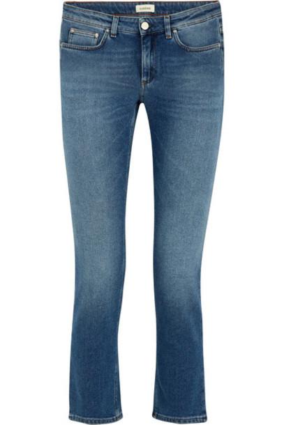 Totême jeans denim cropped