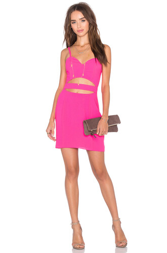 dress bodycon bodycon dress cross pink