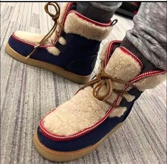 shoes blue fur boot urban menswear boots fur boots furry boots fur ankle fur boots ankle boots fall outfits winter outfits fashion new york city jordan nike boot moschino jeremy scott thug life swag dope autumn boots timberland ugg boots