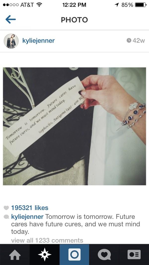 jewels kylie jenner bracelets