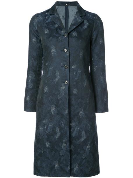 Peter Cohen coat women cotton blue