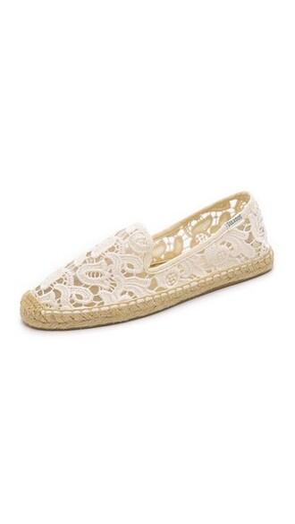 espadrilles lace shoes