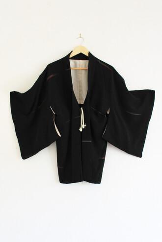 20 50s style print rock unique vintage treetop kimono cardigan