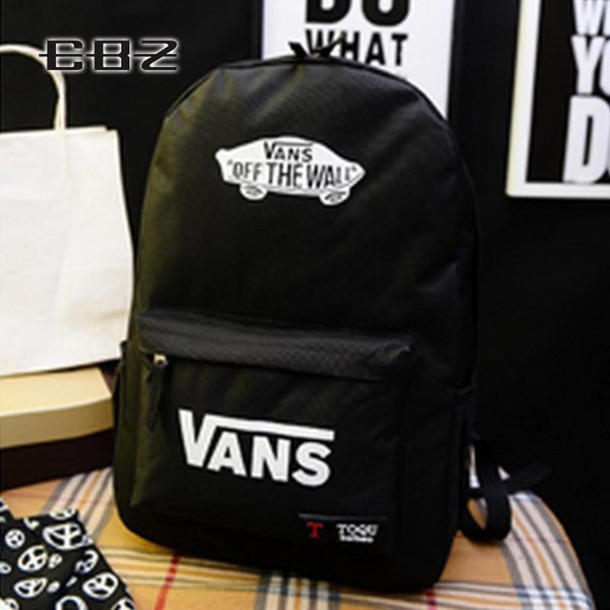bag vans black backpack black backpack