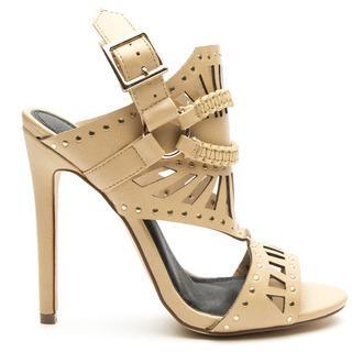 shoes heels sandals gladiators studded studded sandals beige beige sandals