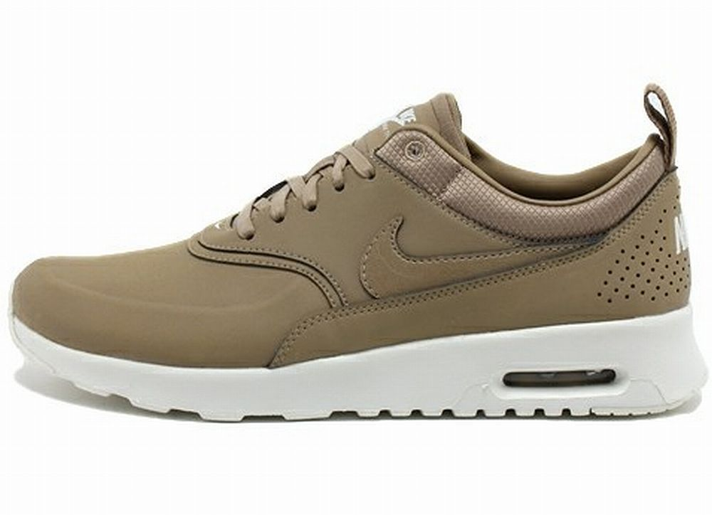 Nike Air Max Thea Trainers In Metallic Navy