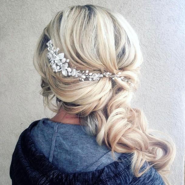 Hair Accessory Tumblr Bridal Hairstyles Hair Hairstyles Blonde