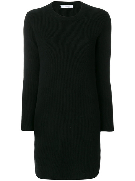 Cruciani dress women black wool