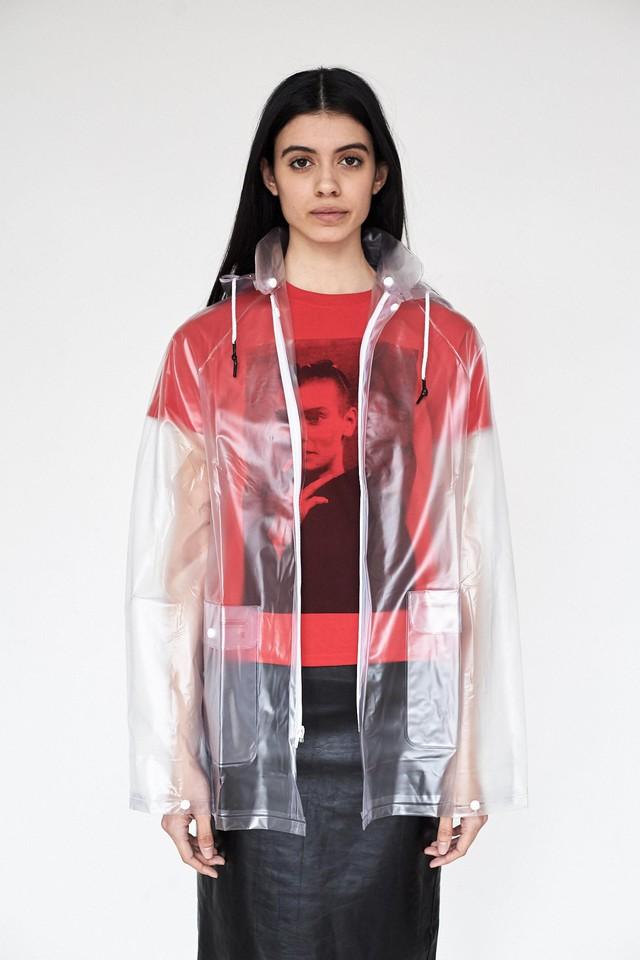 Miu Miu Transparent Raincoat Spring Fashion Trend