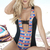 Tribal Macrame One Piece Swimsuit