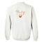 Peachy sweatshirt back