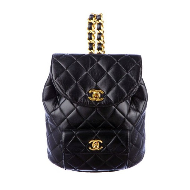 cb7c800e139b bag black leather mini backpack chanel