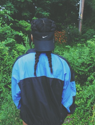 nike hat visor nike hat nike visor tumblr hair accessory
