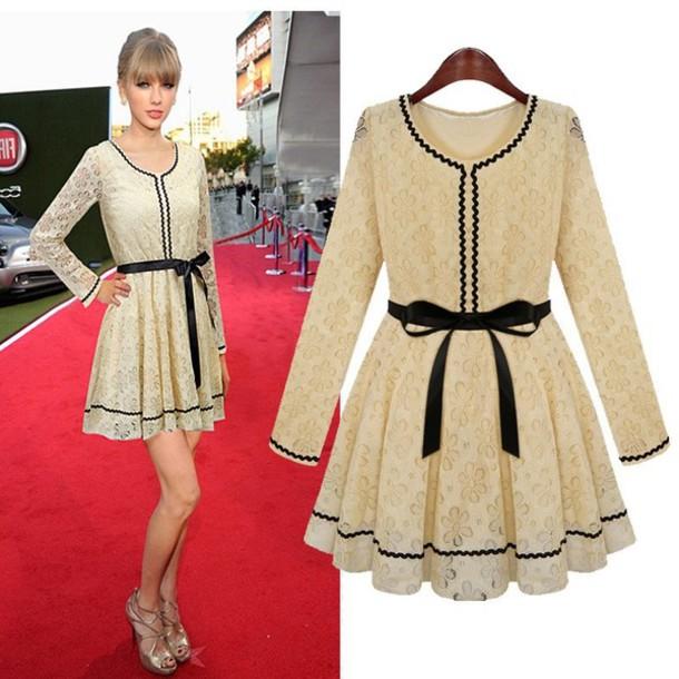 dress, taylor swift, little black dress, prom dress, cute dress ...