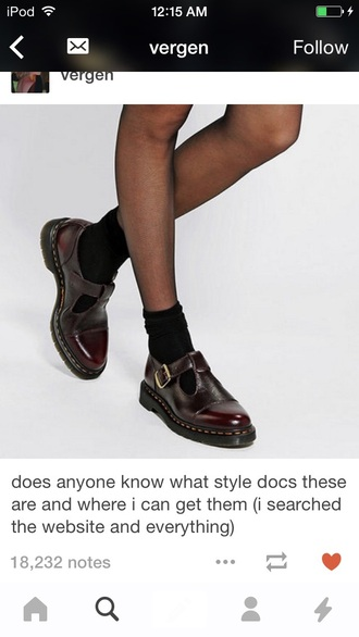 shoes style fashion burgundy sandals drmartens cool