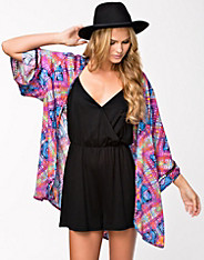 Rainbow wave kimono, minkpink