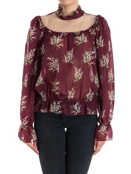 Blugirl blouse floral print top