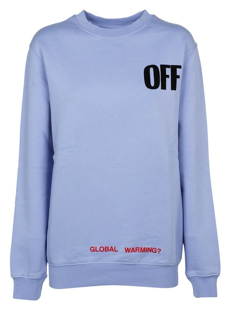 Off-White sweater blue