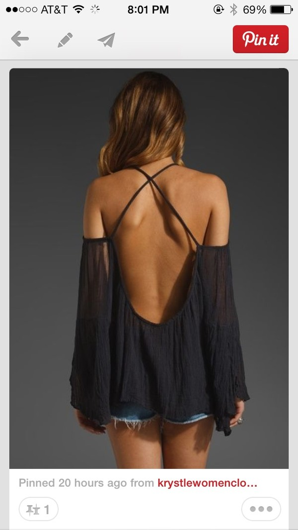 blouse open back backless shirt backless top summer outfits