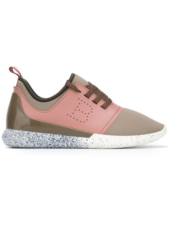women sneakers lace leather shoes