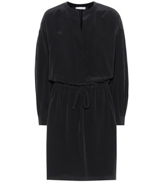 Vince dress silk dress silk black