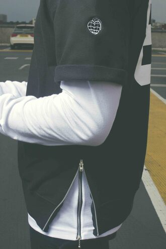 top sweatshirt swag dope yeezy kanye west streetwear zips zip hot t-shirt