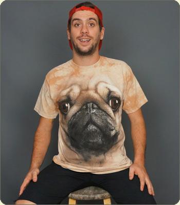 Pug Face T-Shirt | 6DollarShirts