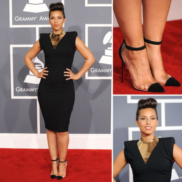 Shoes Heels Cap Toe Black Cap Toe Heel Red Carpet High Heels