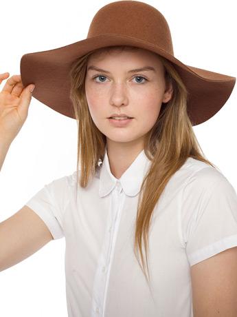 Wool Floppy Hat   Shop American Apparel