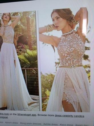 dress elegant prom dress white dress quinceanera dress