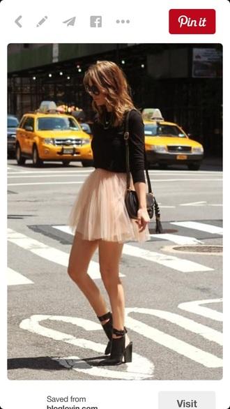 skirt tulle skirt pastel skirt pastel pink skirt