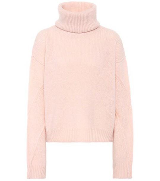 Tory Burch sweater wool pink