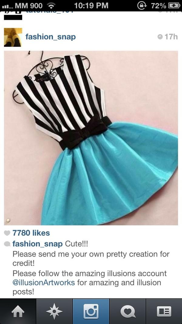skirt blue skaterskirt