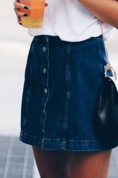 skirt denim skirt midi skirt denim